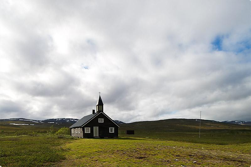 Vägkyrkan i Norge, Fotograf Christian Boo, Nordic Scenery
