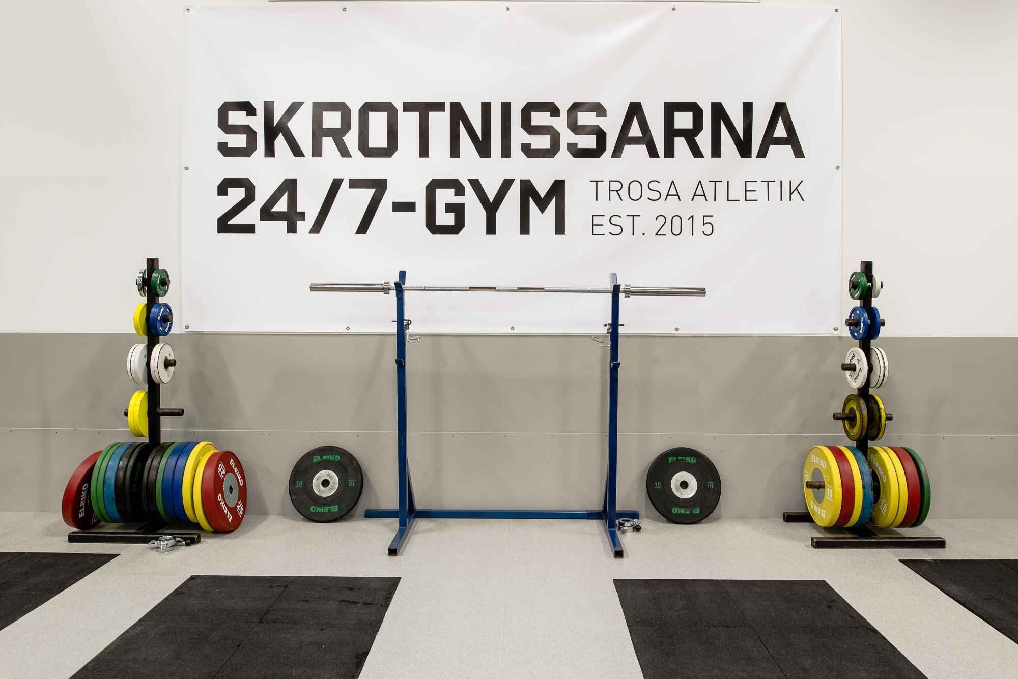 Skrotnissarna, 24/7-Gym, Trosa
