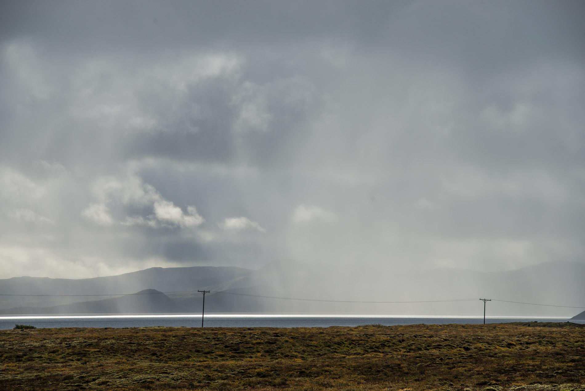 På väg till Þingvellir