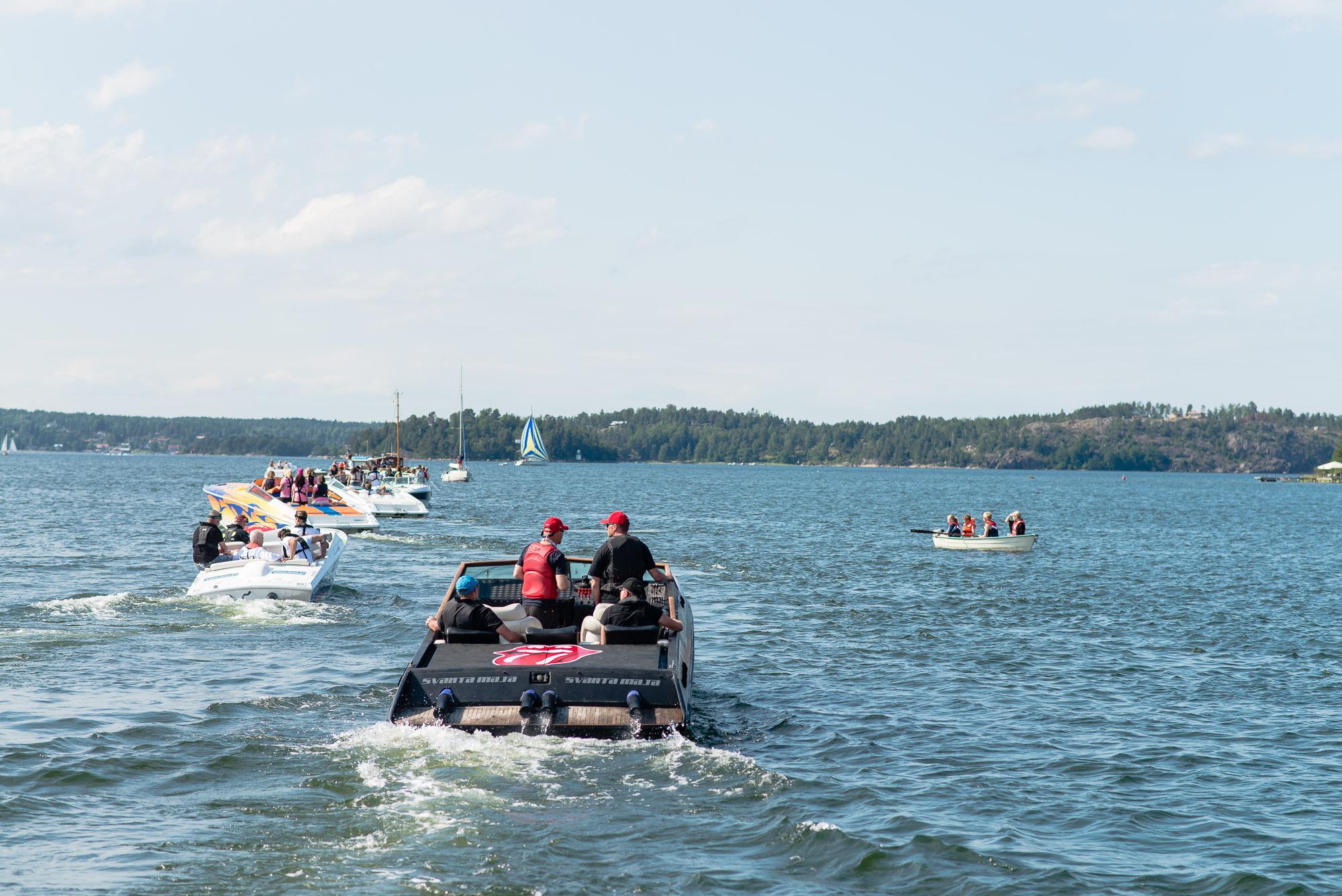 Powerboat Weekend 2015. Linanäs, Ljusterö