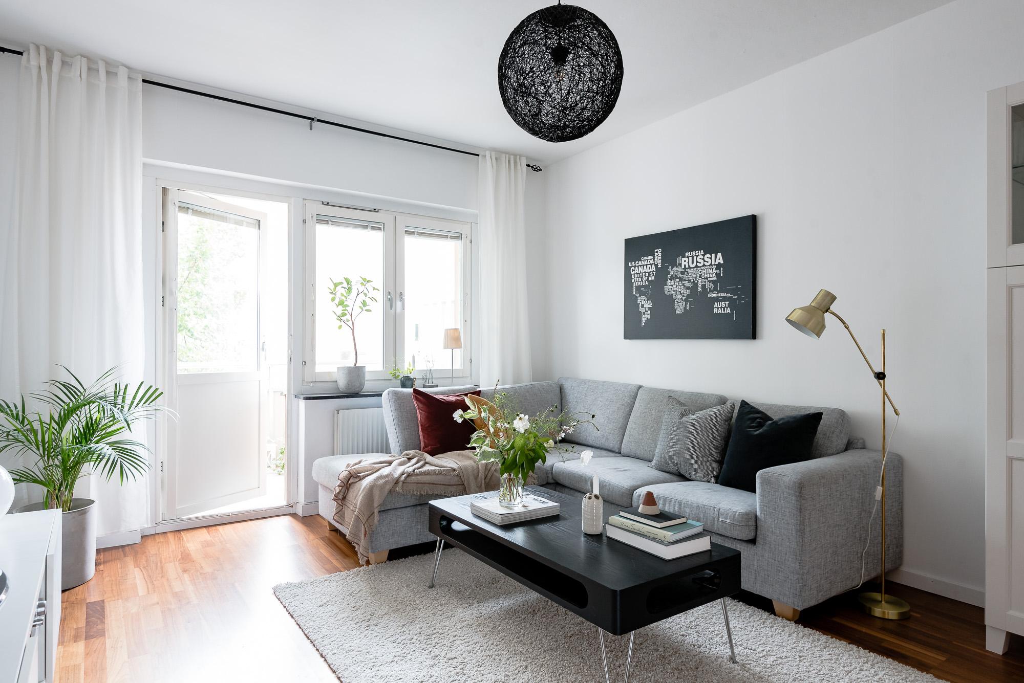 Lägenhet i Nyköing - Vardagsrum