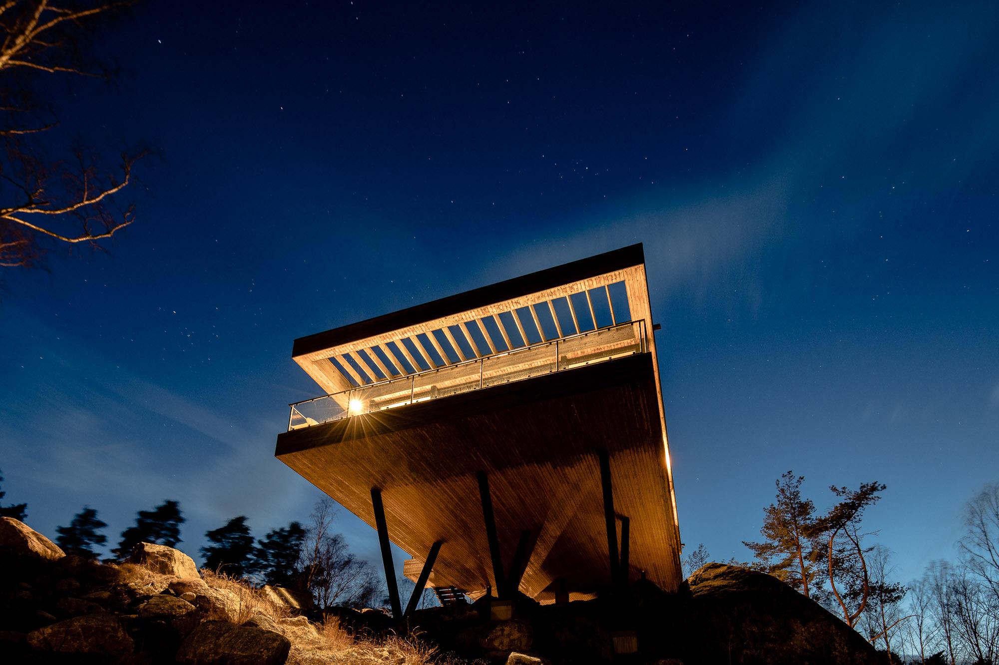 Arkitektritad villa Trosa Skärgård